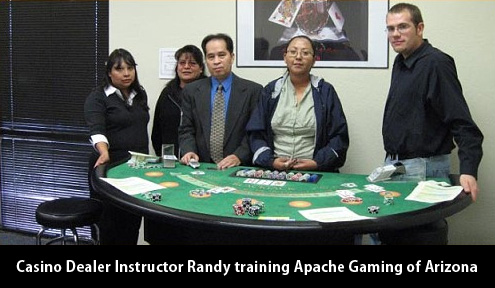 arizona casino dealer school