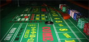 Craps dealer training